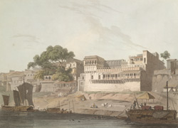 Part of the City of Patna, on the River Ganges